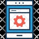 Development App Mobile Icon