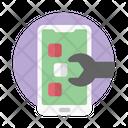 Software Development App Development Mobile Settings Icon