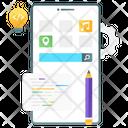 App Setting Mobile App Development Mobile Service Icon