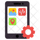 App Development App Setting App Management Icon