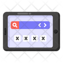 Mobile Password App Password User Interface Icon