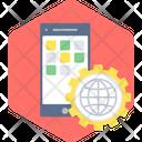 App Setting Gear Icon