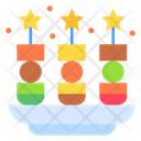 Appetizer Meal Cracker Icon