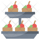 Appetizer Snack Party Icon