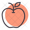 Apple Carbohydrate Fruit Icon