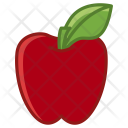 Apple Fruit Fit Icon