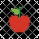 Apple Fruit Healthy Food Icon