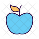 Healthy Apple Healthy Fruit Icon