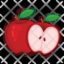 Apple Fruit Fresh Icon