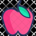 Apple Fruit Healthy Icon