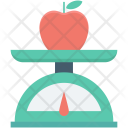 Apple Food Scale Icon