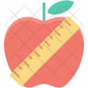Apple Dieting Healthy Icon