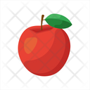 Apple Red Apple Back To School Icon