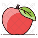 Apple Healthy Food Organic Fruit Icon
