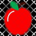 Apple Fruit Fruits Icon