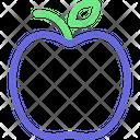 Apple Fresh Fruit Fruit Icon