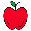 Apple Diet Natural Food Icon