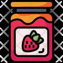 Jam Jam Jar Conserve Icon
