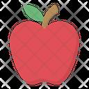 Apple Fruit Organic Icon