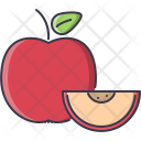 Apple Fruit Cooking Icon