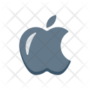 Apple Fruit Bite Icon