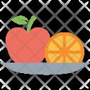 Apple Lemon Orange Icon