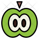 Apple Fruit Food Icon