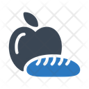 Apple And Loaf Icon