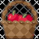 Apple Basket Icon