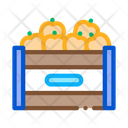 Fruit Box Container Icon