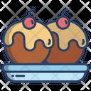 Apple Cake Icon