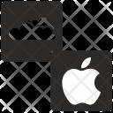 Apple, Icloud Icon