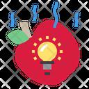 Apple Drop Idea Icon