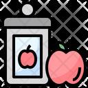 Jam Apple Jam Breakfast Icon
