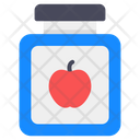 Jam Jar Fruit Jam Jam Bottle Icon