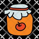 Apple Jam Jar Icon