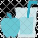 Fitness Gym Juice Icon