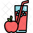 Apple Juice Fruit Icon
