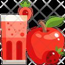 Apple Juice Fruit Juice Drink Icon
