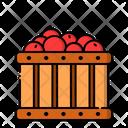 Apple Harvest Fruit Icon
