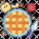 Apple Pie Pie Sweet Icon