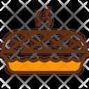 Apple Pie Pie Baked Icon