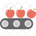 Apple Production Food Icon