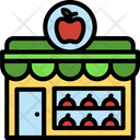 Fruit Shop Organic Icon