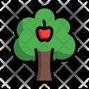 Apple Tree Plant Icon