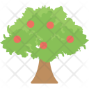 Apple Tree Fruit Icon