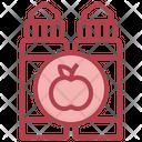 Apple Vaping Vape Icon