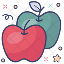 Healthy Apples Healthy Diet Healthy Food Icon