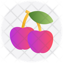 Healthy Food Apples Gambling Icon