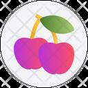 Healthy Food Apples Gambling Icon